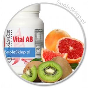 vital ab dieta-cena vital ab calivita-dawkowanie wital ab-vital ab calivita- multiwitamina dla grupy krwi-dieta dla grupy krwi